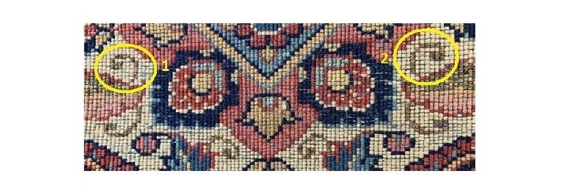 Perzische tapijten herkennen