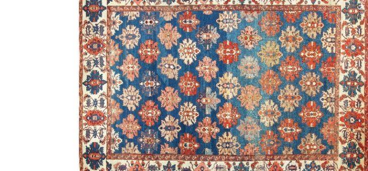 Belang van de conditie in de Perzische tapijten.